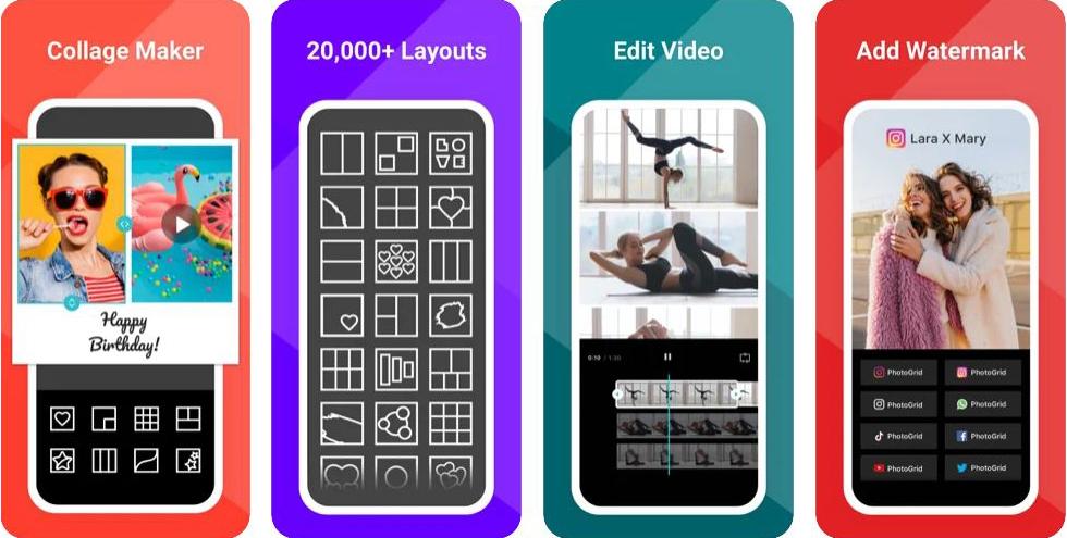 Le migliori App per creare Stories IG - PhotoGrid